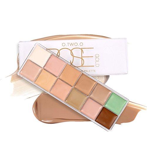Moresave 12Couleurs Concealer Palette Visage Maquillage Prime Foundation Crème Palette
