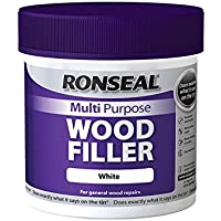 Ronseal MPWFW465 465 g Stucco riempitivo per legno, multiuso per vasca da bagno, colore: bianco