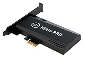 Elgato Game Capture HD60 Pro - Diffusez et enregistrez en 1080p60, Technologie Hors Pair de Réduction de la Latence, H.264 Hardware-Encoding, PCIe