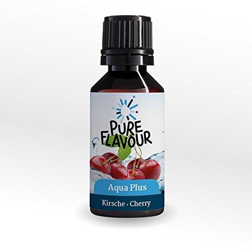 AQUA PLUS Kirsche | Geschmack für Wasser | Die Sirup Alternative |Aromatisiert bis zu 15 Liter Wasser (Aroma-wasser)