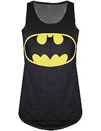 Be Jealous - Débardeur pour femmes sans manche Batman Superman Superwoman