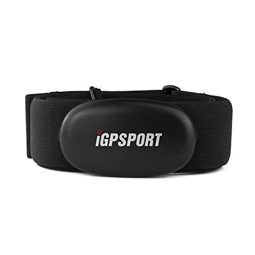 WALIO iGPSPORT HR35 (versión española) - Banda torácica con Sensor de Frecuencia Cardiaca Monitor Conexión Inalámbrico Ant+/2.4G y Bluetooth 4.0. Ciclismo,Running,Gimnasia,aeróbica. Resistencia IPX7