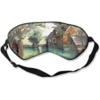 Sleep Eye Mask Hut Forest Scenery Lightweight Soft Blindfold Adjustable Head Strap Eyeshade Travel Eyepatch E13 preisvergleich bei billige-tabletten.eu
