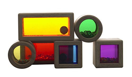 Wonderworld Wooden Rainbow Sound Blocks