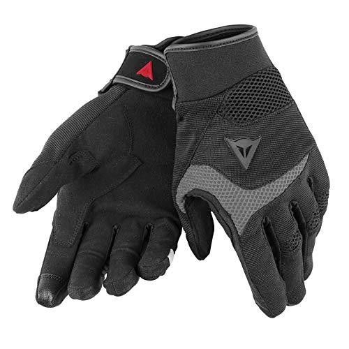 Dainese-DESERT POON D1 UNISEX Handschuhe, Schwarz/Grau, Größe L Grau Handschuh