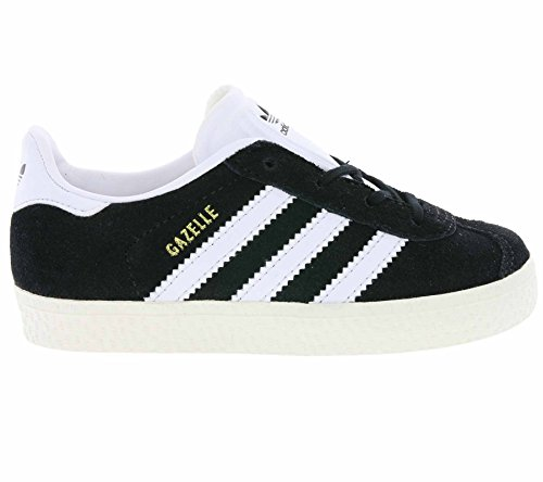 adidas Gazelle, Sneakers Basses Mixte Enfant Schwarz
