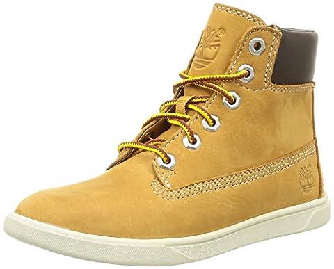 Timberland Groveton 6in, Unisex Kids' Hi-Top Sneakers, Beige (Wheat), 7 UK Child