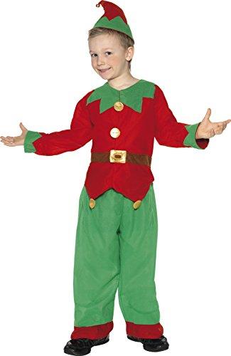 Preisvergleich Produktbild Kostüm Kobold Grün mit Tunika Hose und Hut , Small