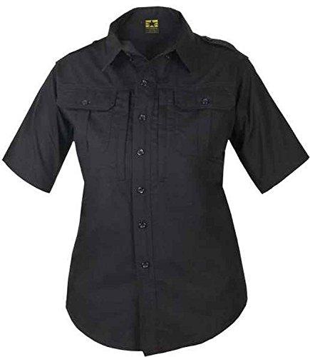 Propper Women's Tactical Shirt - Short Sleeve Black M (Propper Tactical Shirt)