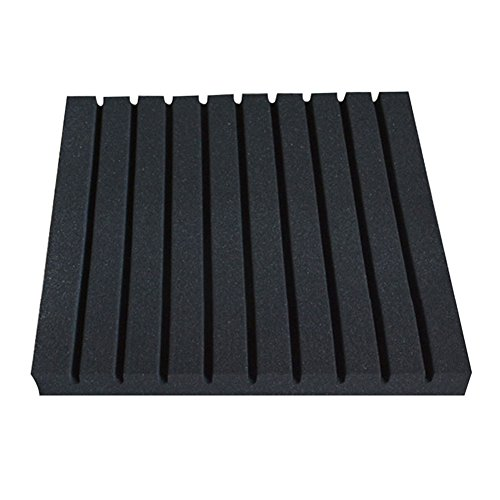 the-cheers-50x50x2cm-high-density-wedge-acoustic-foam-soundproof-sound-absorption-panel-black
