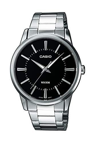 Casio Collection Herren Armbanduhr MTP-1303PD-1AVEF, schwarz