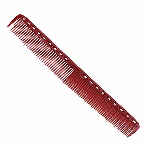 LFDSZ 4 Stil antistatische Rot Kamm Detangling Haarstyling Glättung Kamm Friseur Design Kämme Set Haarschneidewerkzeug 4