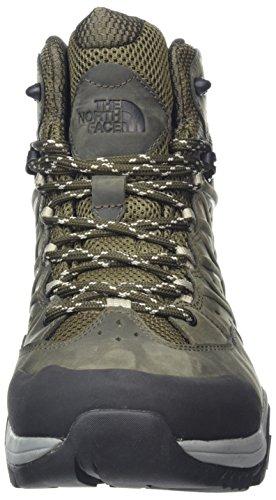 The North Face Hedgehog Hike II Mid Gore-Tex, Chaussures de Randonnée Hautes Homme Vert (Tarmac Green/burnt Olive Green)