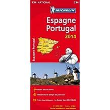 Carte Espagne, Portugal 2014 Michelin