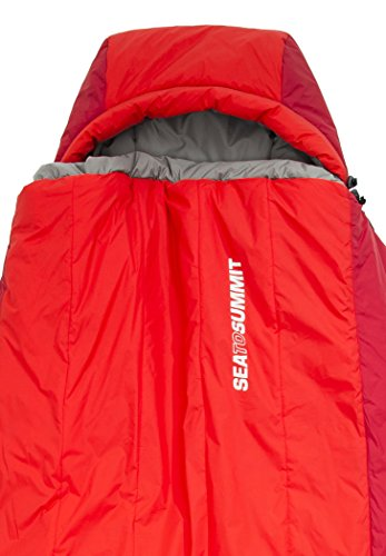 Sea to Summit BaseCamp Bs4 Sleeping Bag Long red 2016 Deckenschlafsack - 3