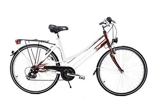 "26\"" Zoll Damen Trekking Damenrad City Bike Shimano 7 Gang Retro Vintage Classic"