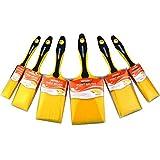 KingOrigin 10080A Premium SRT Borsten Malerpinsel-Set, 6-teilig, Pinsel, Malerpinsel, Pinsel-Set