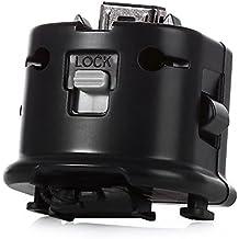 Kobwa Wii MotionPlus Adaptador de Sensor Externo de Seguimiento para el Mando a distancia Nintendo Wii Negro