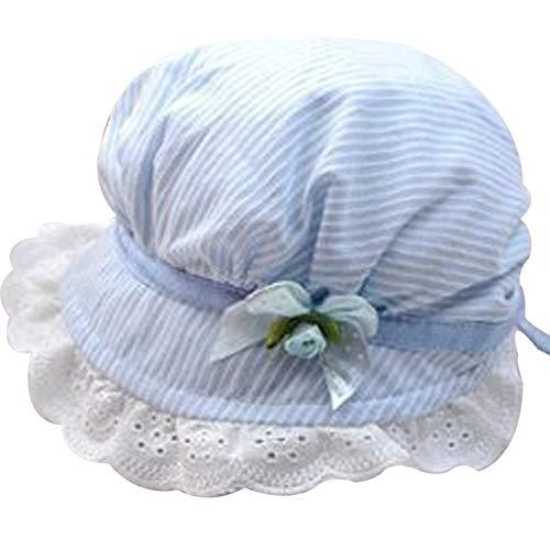 Baby Sonnenhut Infant Atmungsaktive Baumwolle Sommer-Wannen-Hüte Einstellbare Sonnenschutz Cap 0-8 Monate