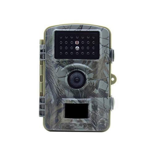 Niocase 1080P HD Jagdkamera Fotofalle, Jagdkamera Nachtsicht, IP66 Wasserdicht 2.4 Inch LCD Display 73 Degree Weitwinkel Tierkamera für Tieren Überwachung von Eigentum
