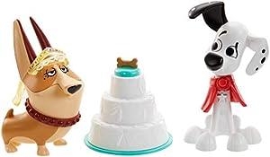 Disney 101 Dalmatian Street Figuras de la boda Dylan y Clarissa con accesorios, juguete niños +5 años (Mattel GBM40)