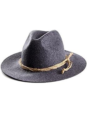 ALMBOCK Trachtenhut Herren | Trachten Hut für Herren aus 100% Filz in den Farben schwarz, braun, grau, grün und...