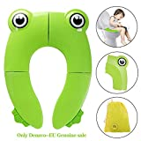 Foldable Travel Potty Toilet Seat, Denavo Toilet Training Seats Portable Potty Travel Toddler