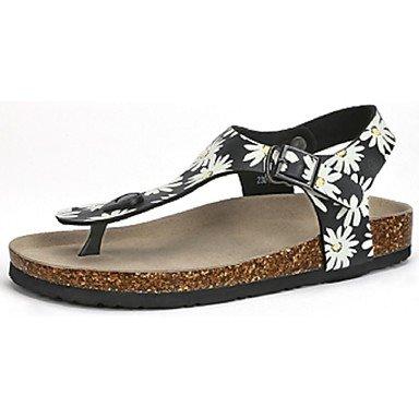 RTRY Camel Donna Sandali Outdoor Fashion Comfort Stampa Spiaggia Scarpe Luce Colore Nero Black Us5.5 / Eu36 / Uk3.5 / Cn35 US5.5 / EU36 / UK3.5 / CN35