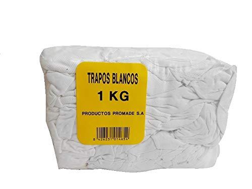 Promade - Trapos blancos algodón aplicación barnices