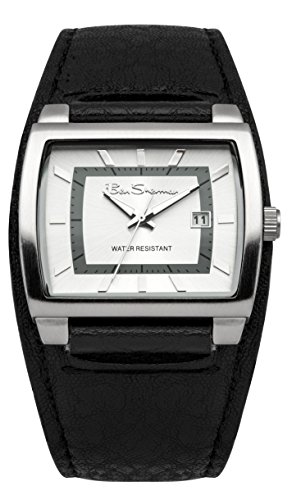 ben-sherman-mens-quartz-watch-with-grey-dial-analogue-display-and-black-plastic-strap-r927