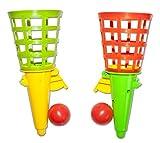 Diverse 6 x Fangballspiele Fangballspiel Fangbecher 18 cm Geschicklichkeitsspiel