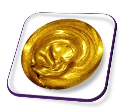 5ml Acrylmalfarbe Gold