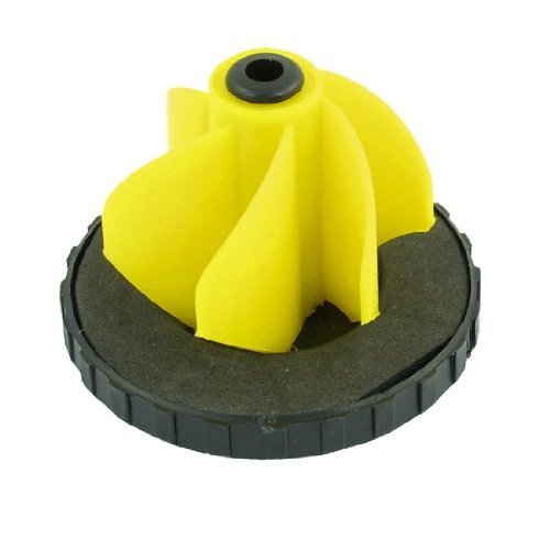 DealMux BL1308108 Hard Plastic Oil Fuel Tank Cap Spare Part Assembly Black Yellow (Fuel Tank Assembly)