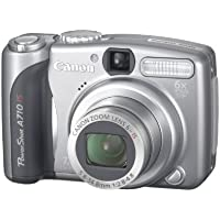 Canon PowerShot A710 IS Digitalkamera (7 Megapixel, 6fach opt. Zoom, Bildstabilisator)