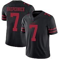 Jersey de fútbol americano, sudadera Colin Kaepernick #7 San Francisco 49ers Rugby Jersey suave y cómodo tejido transpirable (S-3XL)-M
