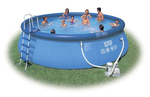 INTEX Pool-Set 457×122 cm komplett mit Leiter etc.