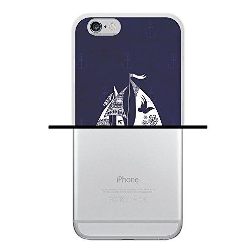 iPhone 6 6S Hülle, WoowCase Handyhülle Silikon für [ iPhone 6 6S ] Buddha Handytasche Handy Cover Case Schutzhülle Flexible TPU - Transparent Housse Gel iPhone 6 6S Transparent D0194