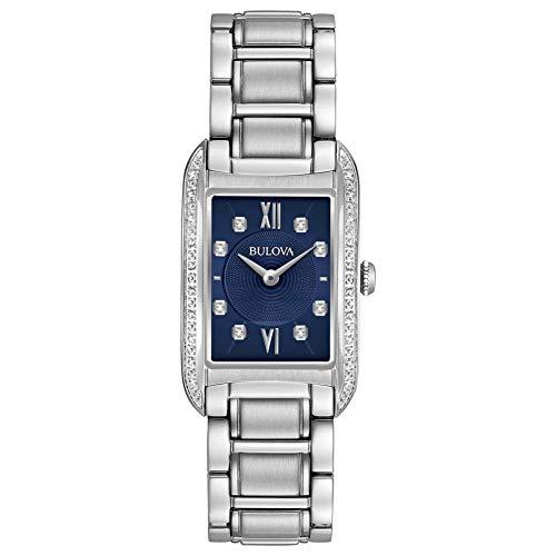 Reloj solo tiempo para mujer Bulova Curv Diamonds Casual Cod. 96r211