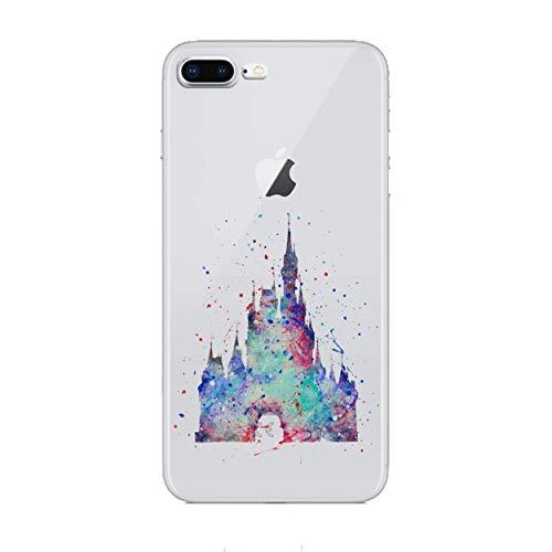 iPhone 6 Plus/6s Plus Fankunst Silikonhülle / Gel Hülle für Apple iPhone 6S Plus 6 Plus (5.5