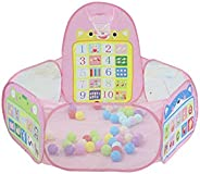 Foldable Baby Numeral Balls Pool Pit Indoor Outdoor Children Baby Toy Game Play House Kids Gift Play Tent With