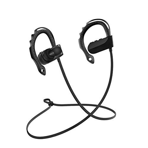 TAIR Wireless im Ohr Kopfhörer, Bluetooth Kopfhörer, Ohr Haken Sports Headset, Sports Stereo Kopfhoerer für Gym, Rennen, Training