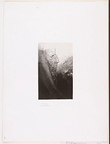 Das Museum Outlet-Lon Redon-La Tentation De Saint-Antoine, gespannte Leinwand Galerie verpackt. 29,7x 41,9cm