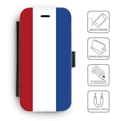 Delle cellule Phone Card Slot cassa del raccoglitore di cuoio // V00001132 cittadino olandese Paese (Pronto Basamento Della Bandiera)