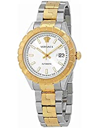 Versace Hellenyium Silver Dial Automatic Mens Watch VZI040017