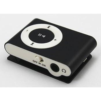 Mini lettore mp3 nero supporta tf card sdcard fino a 8gb - Lettore mp3 da tavolo ...