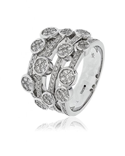 Twinkle 750 Gold oro blanco blanco raro +/wesselton superior f diamante