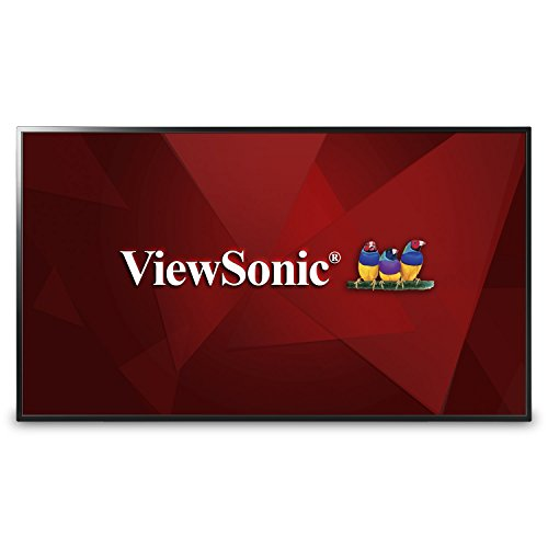 Viewsonic CDE4803 121,9 cm (48 Zoll) Digital Signage Display (Full-HD, VA-Panel, HDMI, USB, VGA, Mediaplayer, Lautsprecher) Schwarz -