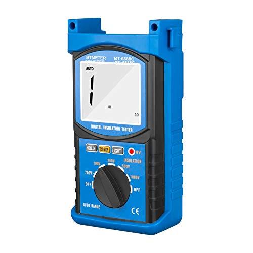 Ballylelly-HoldPeak 6688C Digita Isolationswiderstand Tester Widerstandsmessgeräte von Ballylyly