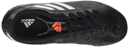 adidas Conquisto Ii Fg J, Chaussures de Football Garçon Multicolore (Core Black/ftwr White/solar Red)