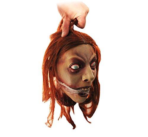 Halloween Frauen Kopf Lady Guillotine Henker Opfer Horror Deko Lebensgroß super realistisch